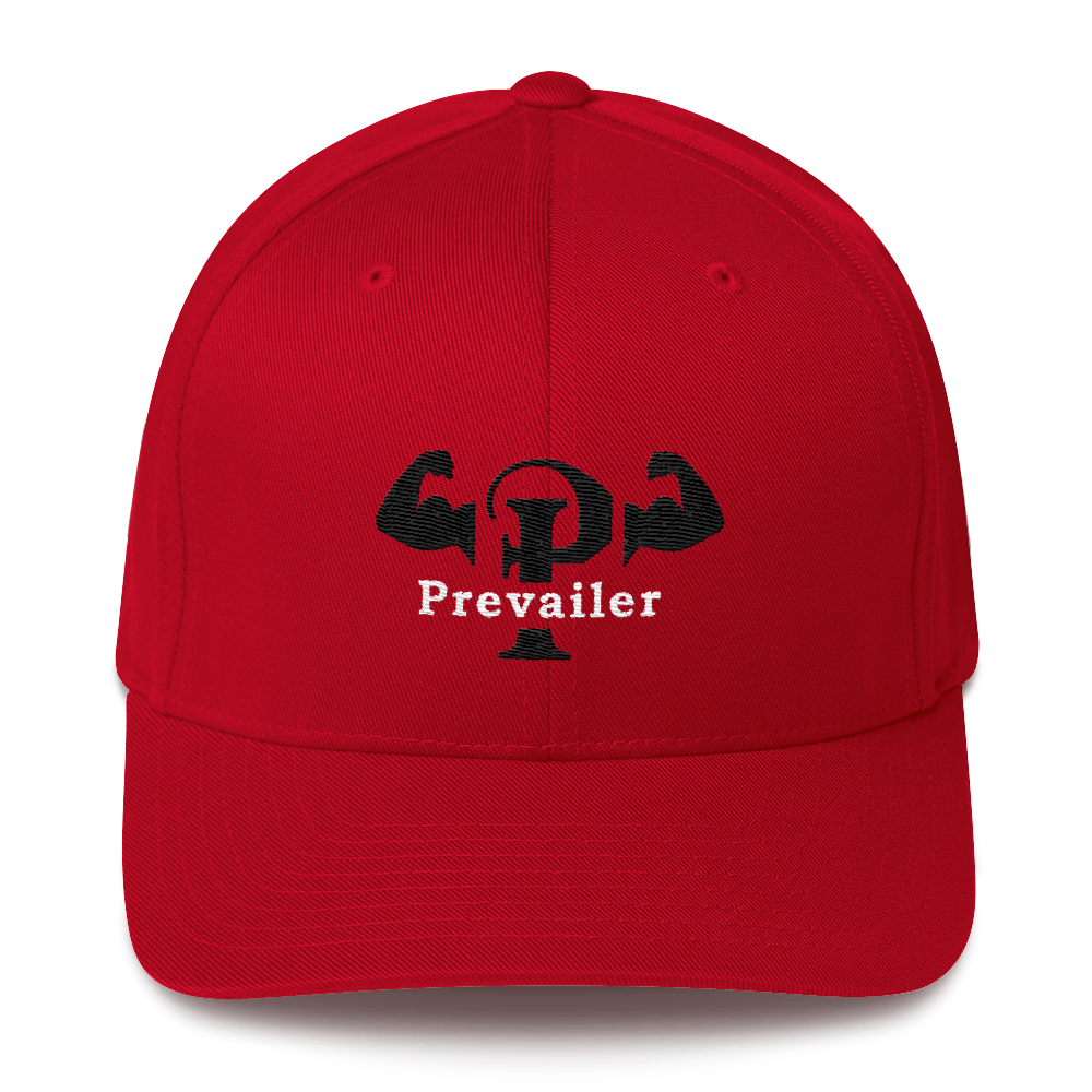 """Prevailer Hardcore"" Structured Twill Cap"