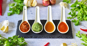 Our sauces are low in carbohydrates & calories, cholesterol-free, sugar-free, gluten-free, egg-free, nut-free, dairy-free, MSG & preservative-free & contain less net carbs, calories & sodium as compared to other sauces. Suitable for Keto Diet/LCHF Diet, L