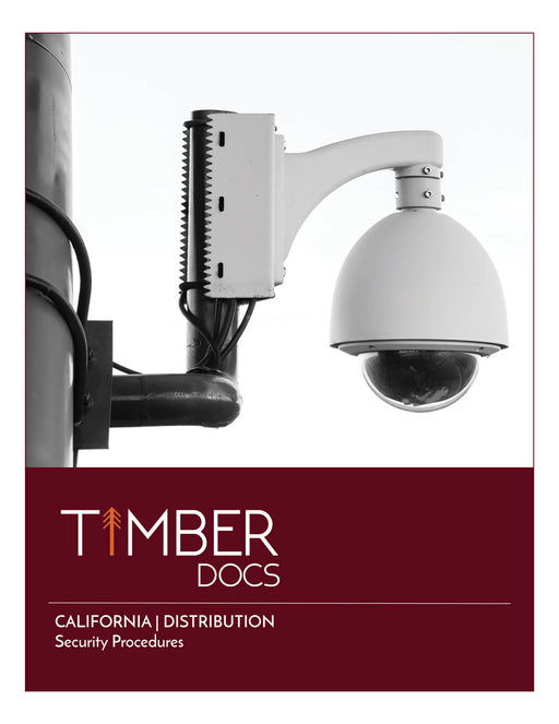 California Distribution Security Plan