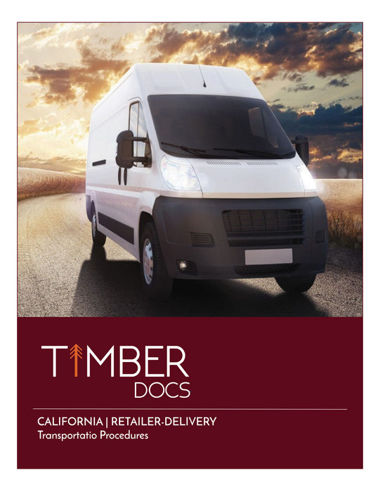 California Retail-Delivery Transportation Plan