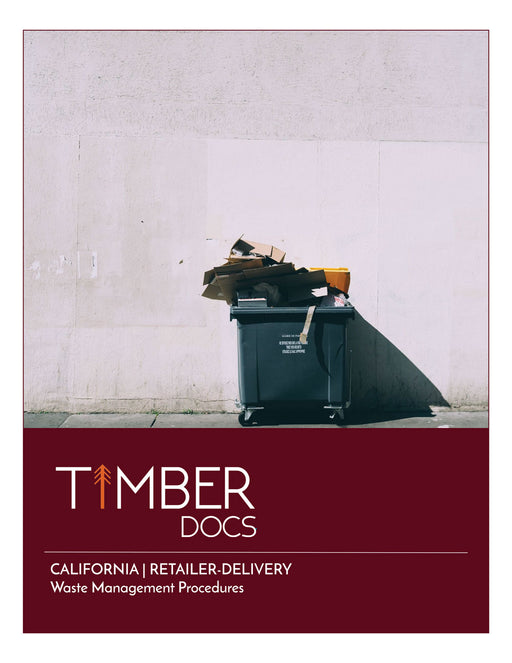 California Retail-Delivery Waste SOP