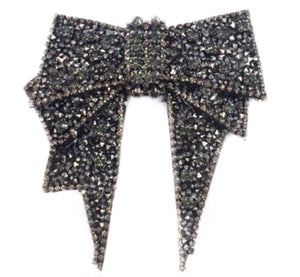 Black Rhinestone Ribbon - GENAsg