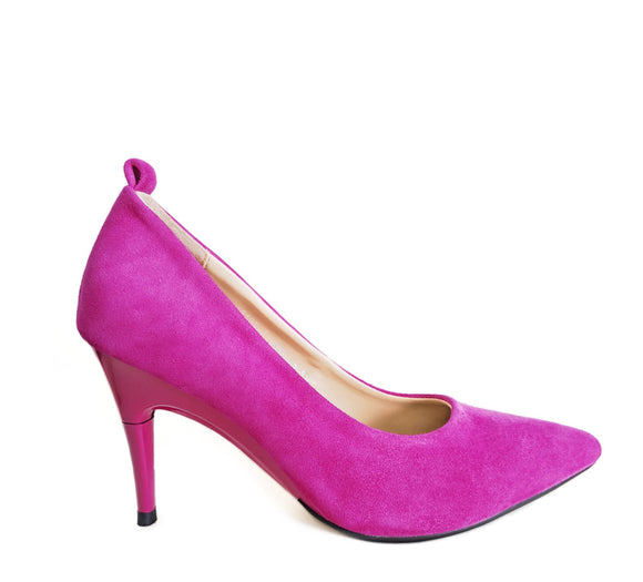 *NEW Suede Fuchsia Pumps - GENAsg