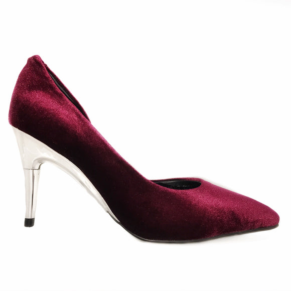 CLEARANCE Red Velvet Pumps - GENAsg