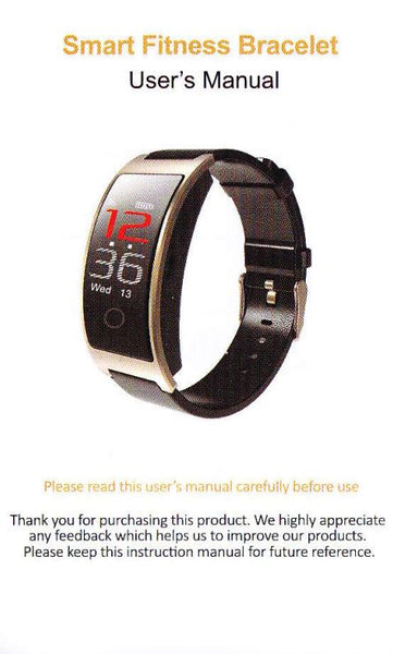 CK1iC Smart Watch User's Manual – Oh Yes, We Have It!