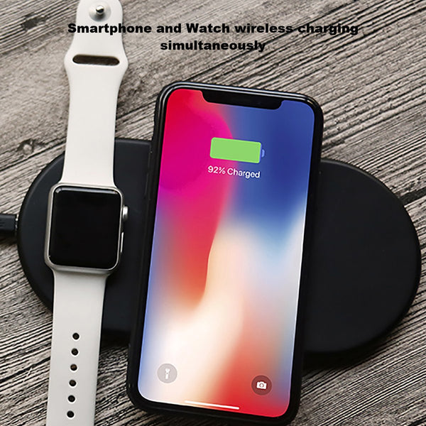 2 in 1 QI Wireless Fast Charging Pad - Oh Yes, We Have It!