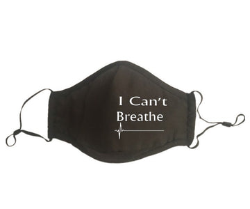 BLM - I Can't Breath Mask