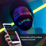 LED Colorful Display Face Mask with PM2.5 Filter