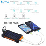 Waterproof Solar Power Bank With Dual USB - Oh Yes, We Have It!