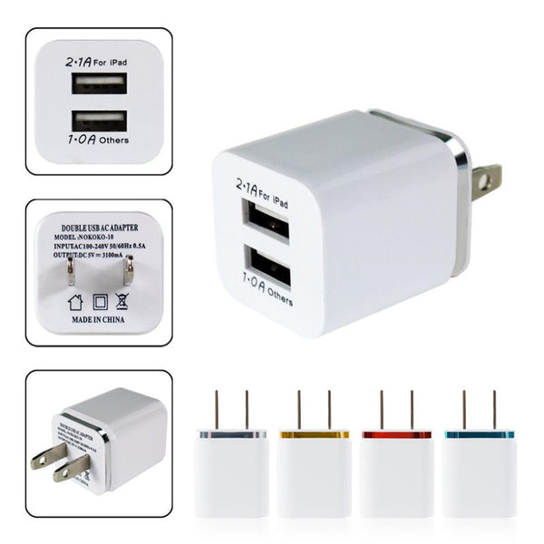 Perfect Dual USB US Wall Charger - Oh Yes, We Have It!