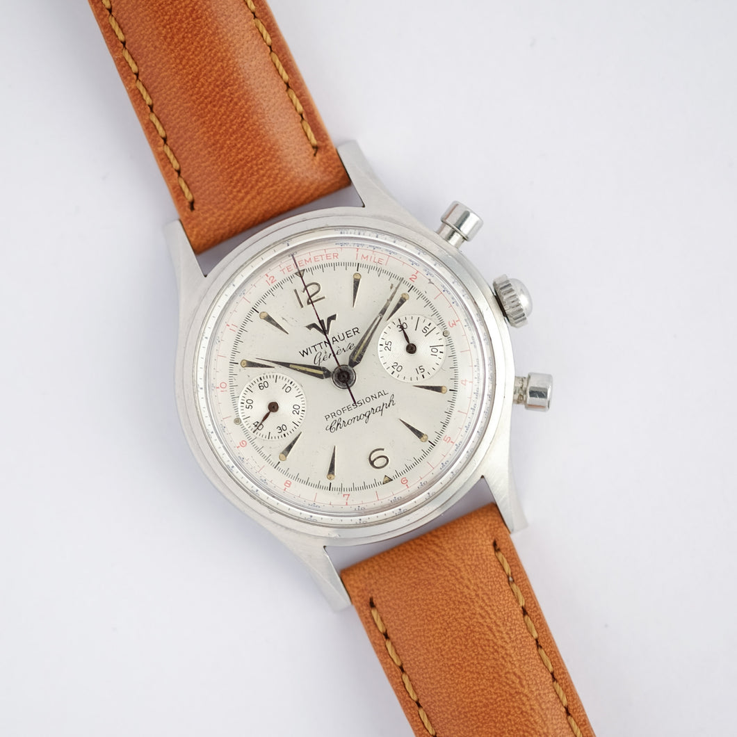 1960s Wittnauer Professional Chronograph