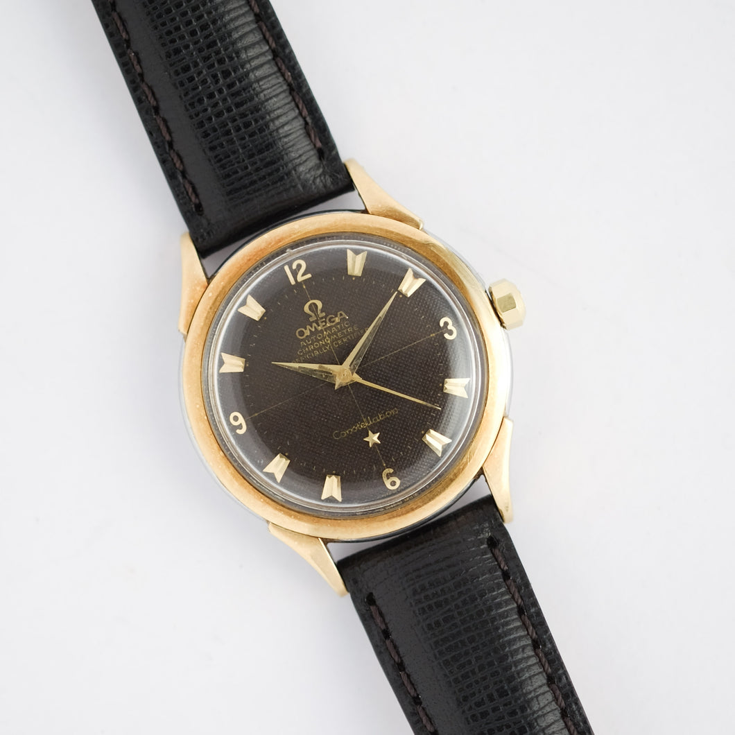 1954 Omega Constellation Waffle Dial