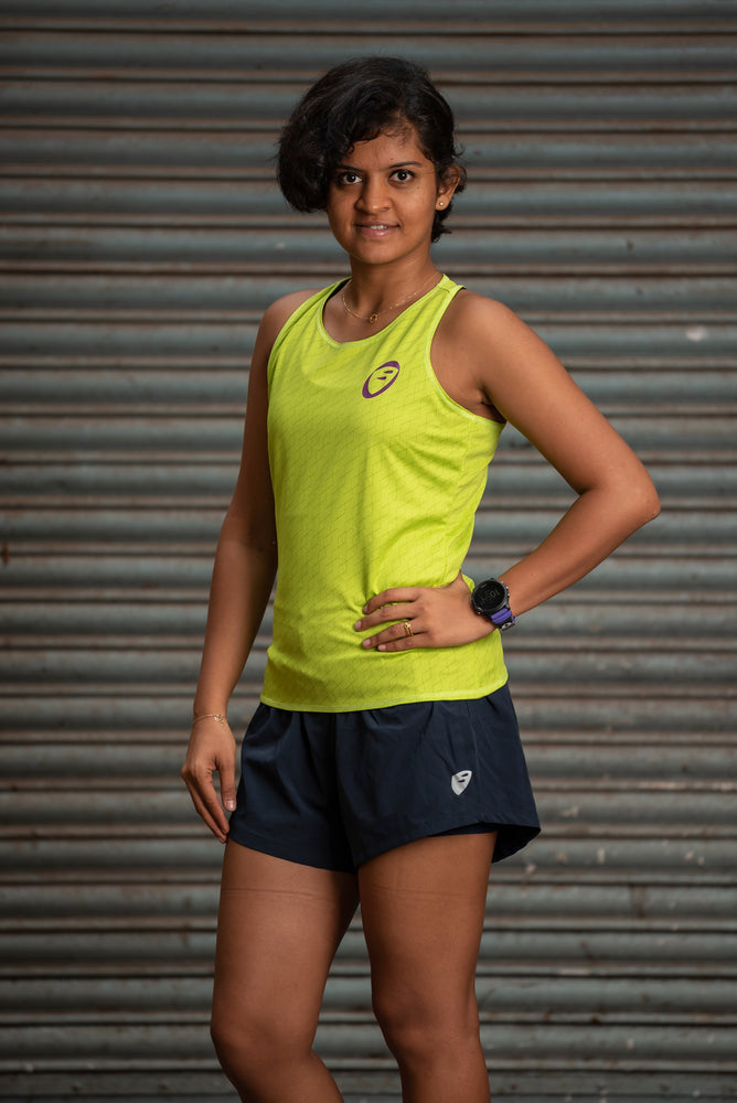 Racerback | Womens | Lightweight | Stride | Lime