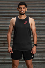 Clearance | Singlet | Mens | Lightweight | Stride | Grey