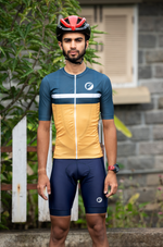 Mens Cycling Jersey | Snug-fit | Breakaway | Sunburst