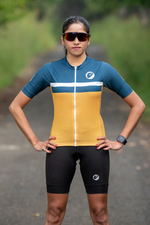 Womens Cycling Jersey | Snug-fit | Breakaway | Sunburst