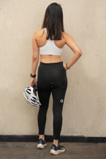 Womens Cycling Shorts | Ladies Cycling Full Tights | Gel padded | Blade | Black