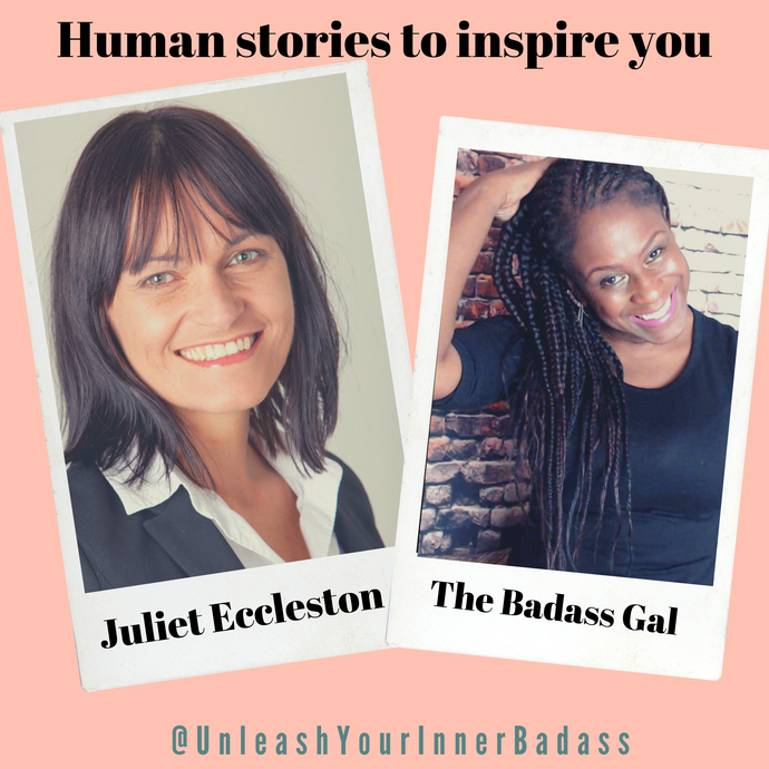 The Badass Gal talks to Juliet Eccleston about how and why she started being her authentic self at work.