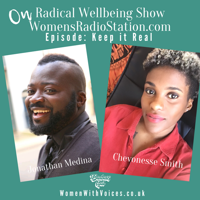EPISODE: Talking Real Beauty with documentary film maker Johnathan Medina and Anxiety with Poet Chevonesse Smith