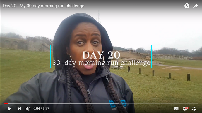 Day 20: My 30-day morning run challenge