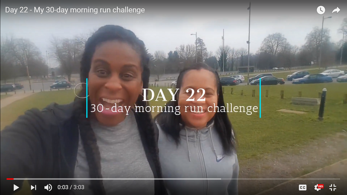 Day 22: My 30-day morning run challenge