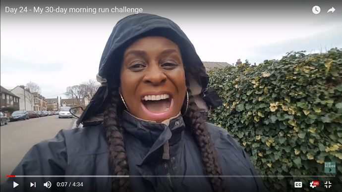 Day 24: My 30-day morning run challenge