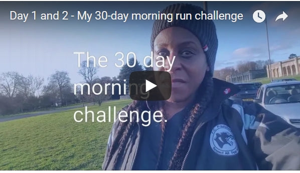 Day 1 and 2 -  My 30-day morning run challenge