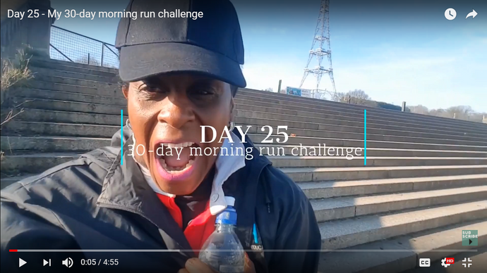 Day 25: My 30 day morning run challenge