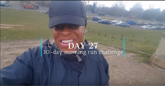 Day 27: My 30-day morning run challenge