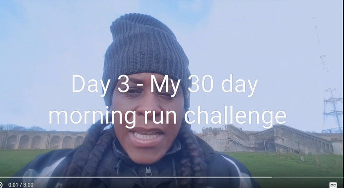 Day 3 - My 30-day morning run challenge