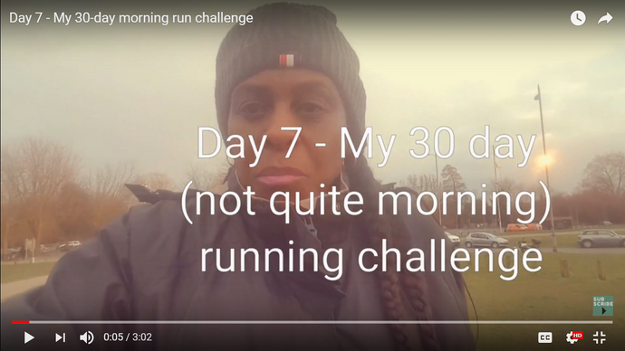 Day 7: My 30-day morning run challenge