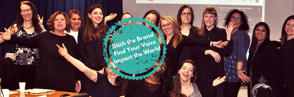 Ditch the brand, find your voice instead.
