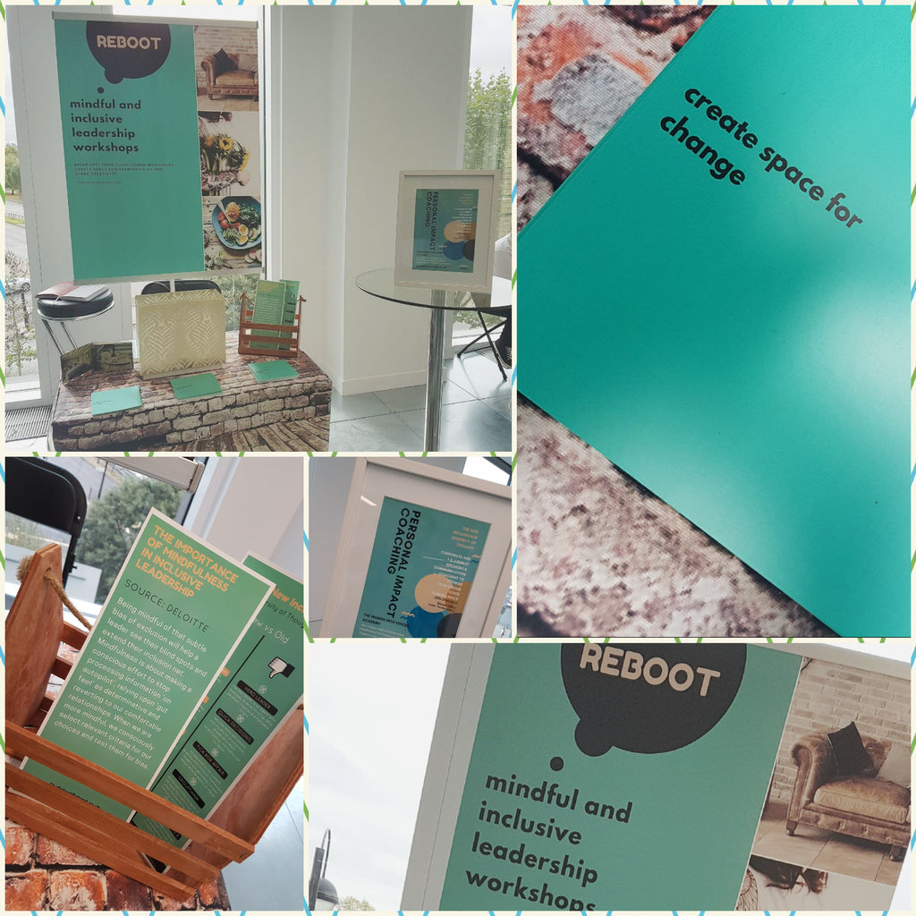 Reboot exhibition stand at Techknowday