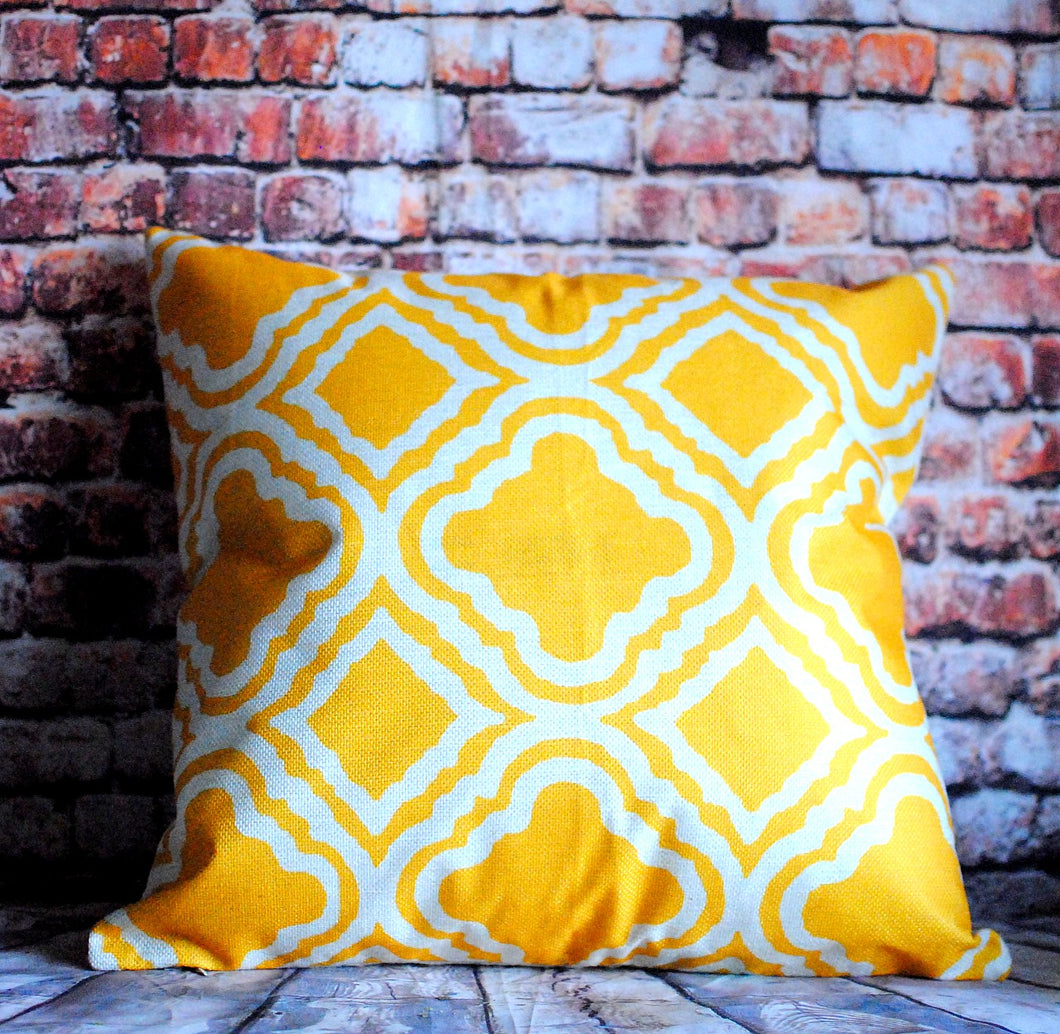 Sunrise Scandinavian Print Cushion Cover