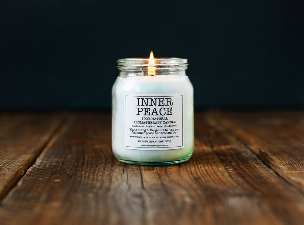 Soy Aromotherapy Candle - Inner Peace