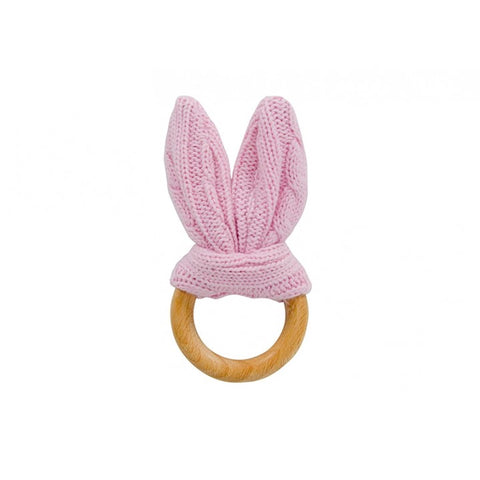 Teether Bunny Ears - Pink