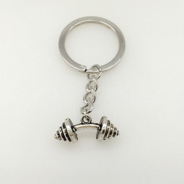 Dumbbell Keychain - Gym Rat World