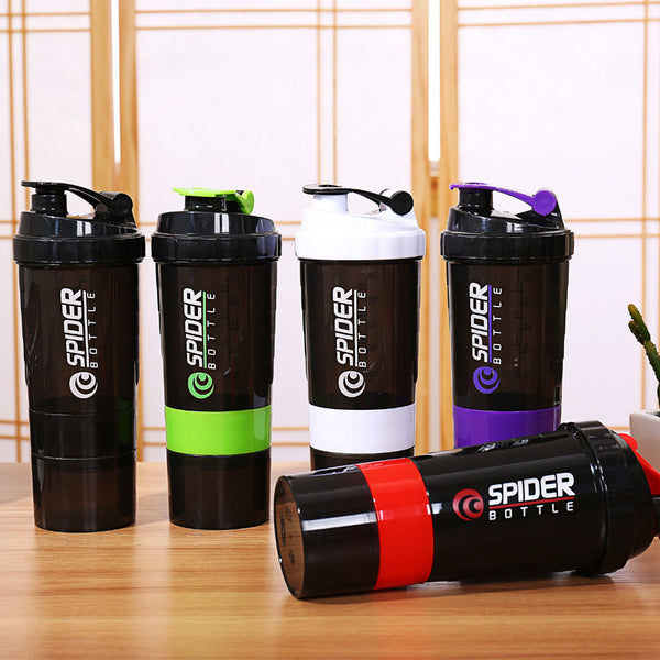 Spider Shaker Bottle - Gym Rat World
