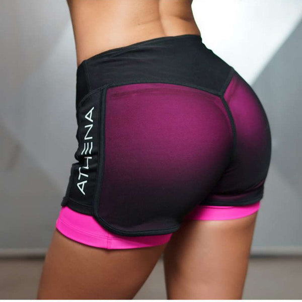 Compression Yoga Shorts - Gym Rat World