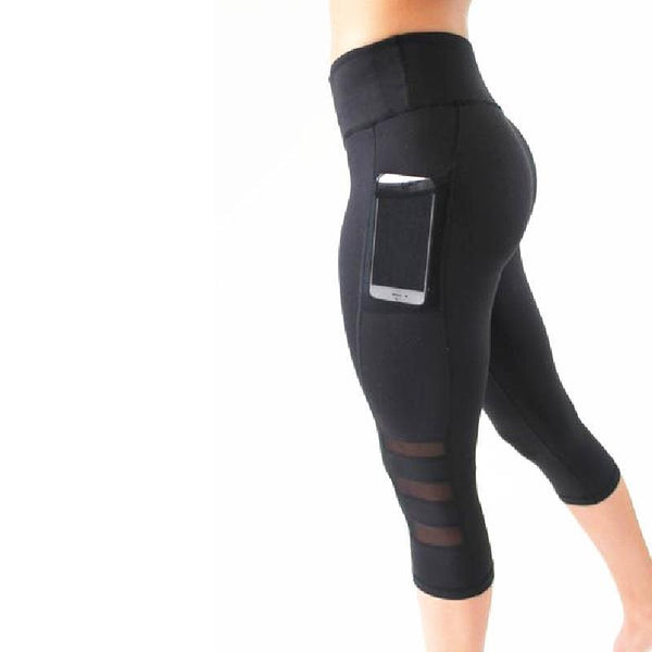 Capri Fitness Leggings - Gym Rat World