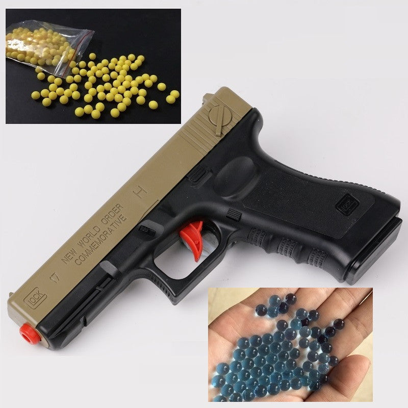 1 Pc Assembled Guns With Soft Bullets Water Balls Pistol Plastic