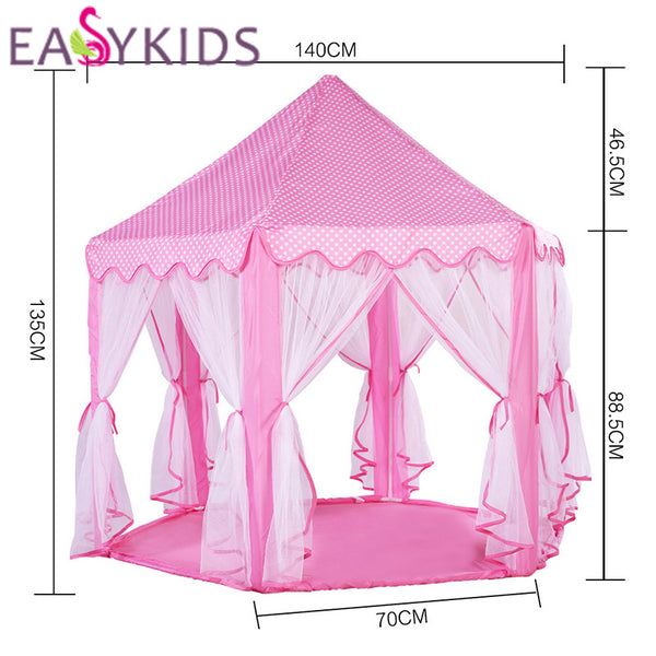 Kids Play Tent Teepee Gift Princess Castle Tipi Toy Tents Kids Play Ho - Supply Micro  sc 1 st  Supply Micro & Kids Play Tent Teepee Gift Princess Castle Tipi Toy Tents Kids Play ...