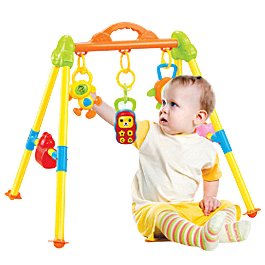 c3f35553c909a Multifunctional Music Intelligence Game Mats Baby Activity Play Mat Baby  Gym Educational Fitness Frame Toys Juguetes Para Ninos