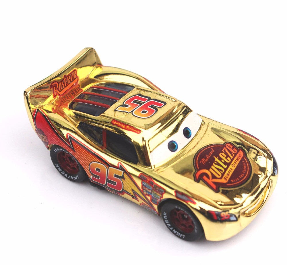 5 Styles New Pixar Cars 2 Gold Silver Lightning Mcqueen 1 55 Scale