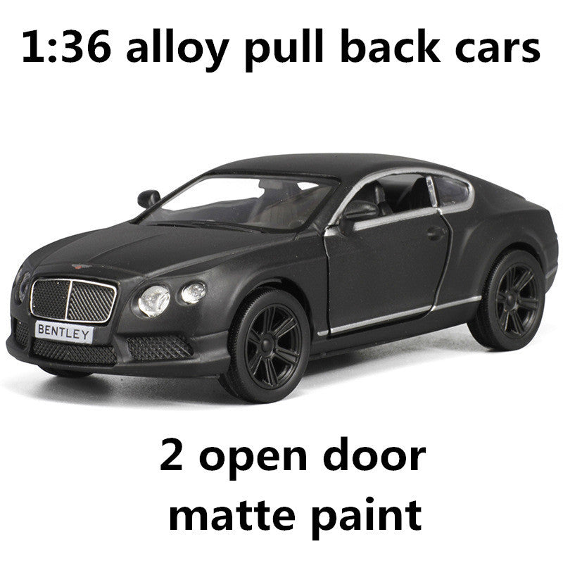 1:36 alloy pull back cars,high simulation Continental GT V8 model, 2 ...