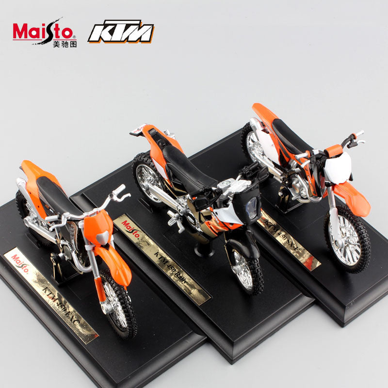 1:18 scale maisto kids Motorcycle KTM 450 EXC Rally SX-F Motocross ...