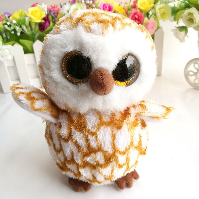afb1daeb4b3 In stock Original Ty Beanie Boos Plush Toy SWOOPS Owl Stuffed Animal Doll  Kids Toy Soft Birthday Gift
