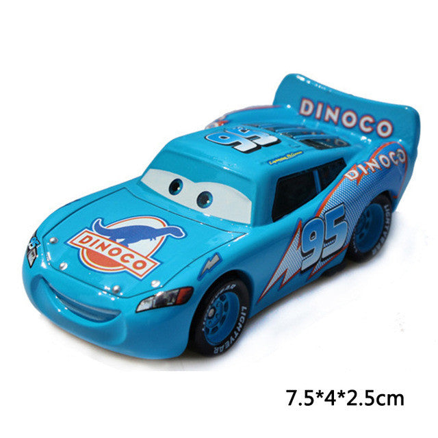 Diecasts & Toy Vehicles Disney Pixar Cars 2 Metal Car Toys Chick Hicks Lightning Mcqueen The King Diecast Metal Alloy Toys Birthday Gift 17 Style Modern Techniques
