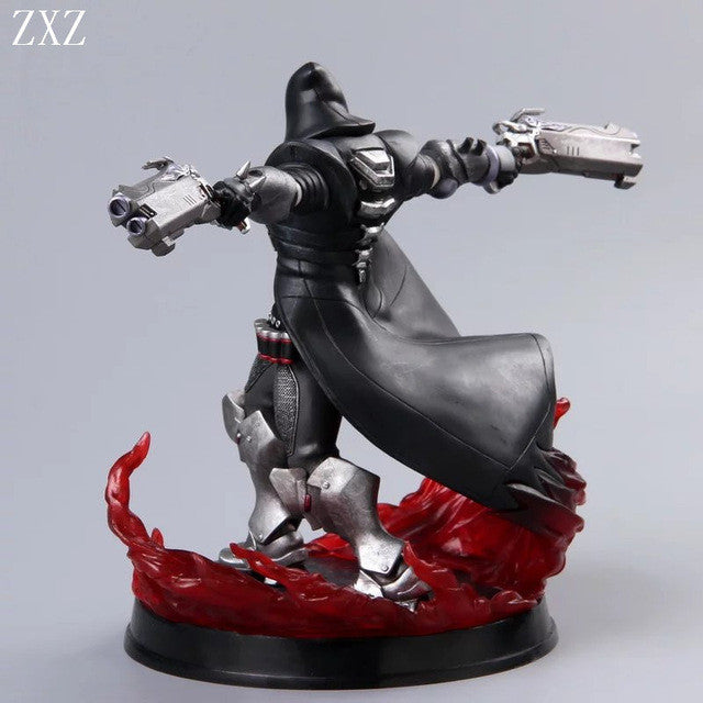 2 TYPE hot Game OW Azrael Death Reaper Ultimate skill Ripper Action Figure  Model Toys Anime Game Doll Toy christmas Gift reaper