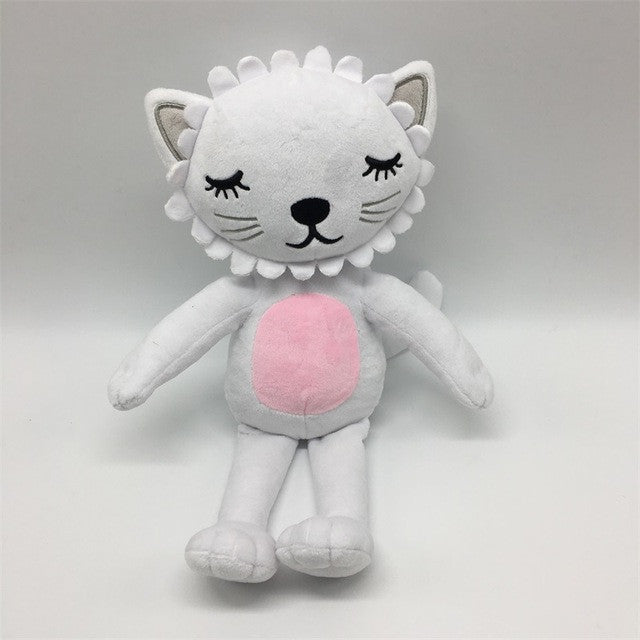 2017 New Kawaii Lion Cat Plush Toys Stuffed Animals Fluffy Cat